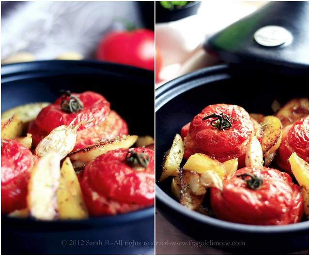 pomodori Collage