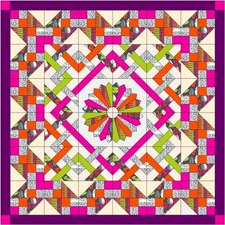 Sew Intertwined Quilt - Stockholm Fabrics by Robin Singone