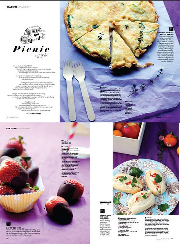 Đẹp Magazine - Picnic