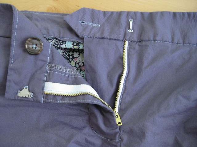 Thurlow Shorts zipper