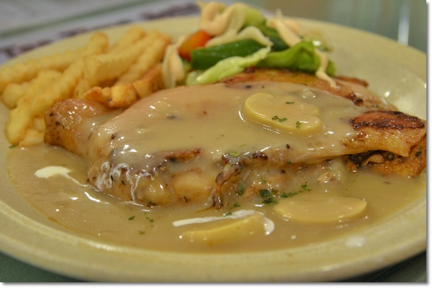 Chicken Chop Mushroom Sauce