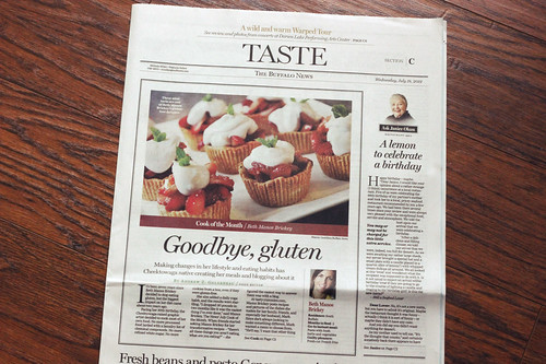 Buffalo News - July Cook of the Month