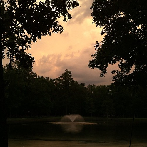 Just finished running before the storm #nofilter #womenrunwalkmemphis