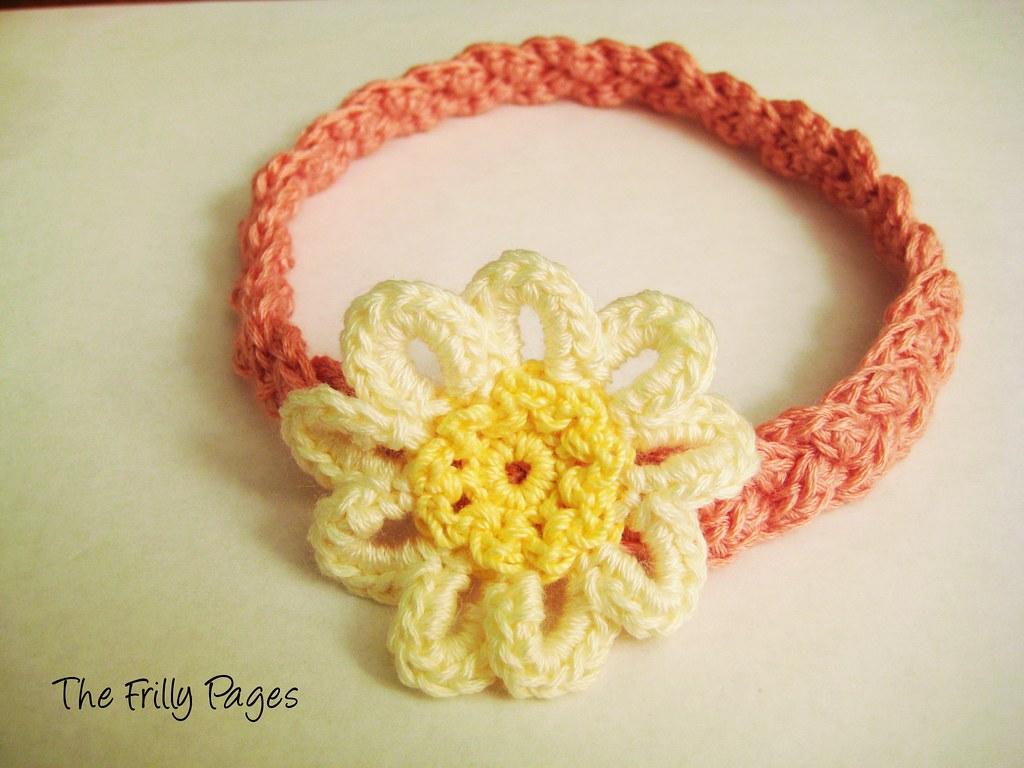 Daisy Braided Headband