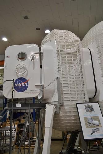 The Inflatable Lunar Habitat's airlock