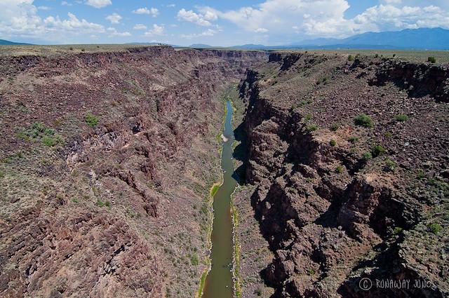 Rio Grande Gorge Bridge in New Mexico