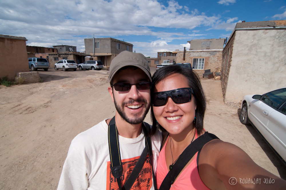 Acoma Pueblo with Stephen