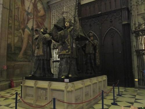 コロンブスの柩・・・セビーリャのカテドラル by Poran111