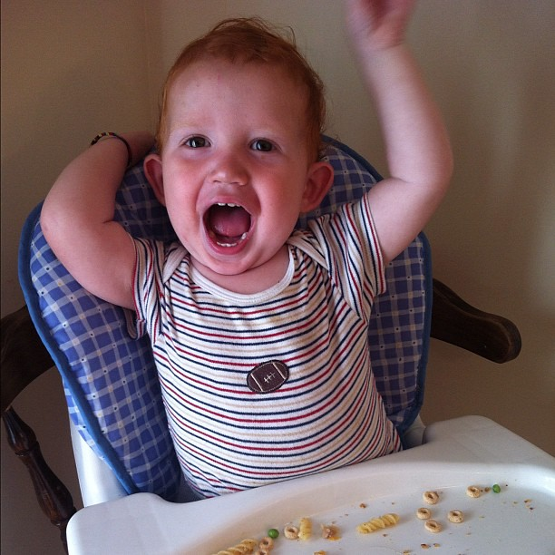 """IT'S DADDY'S BIRTHDAY DINNAAAAAAHR!"""