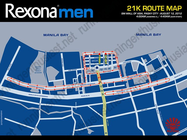 Rexona Run_21k Route FA
