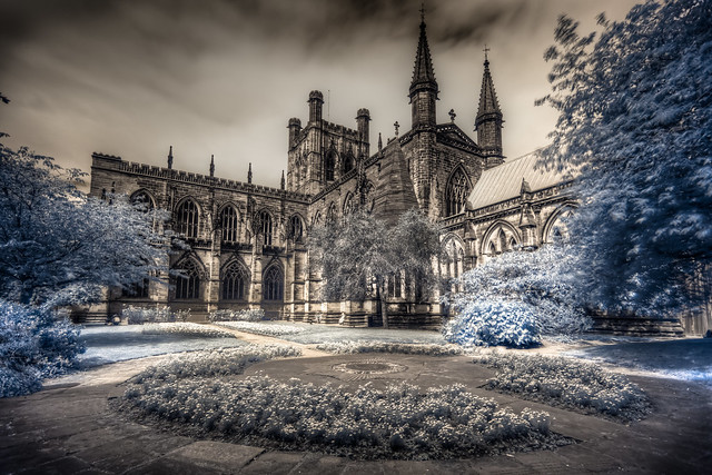 Chester Cathedral (Infrared & HDR)