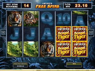 Untamed Bengal Tiger Free Spins