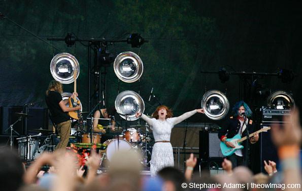 Grouplove @ Firefly Music Festival, Dover, DE 7/2012