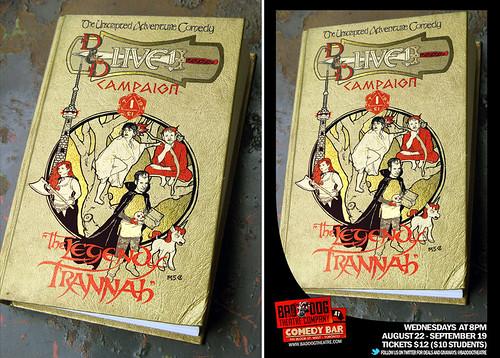 """D & D Live!"" poster"
