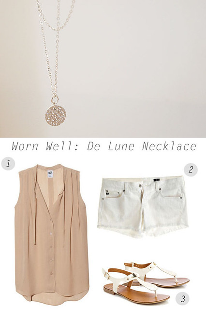 Worn Well: De Lune Necklace