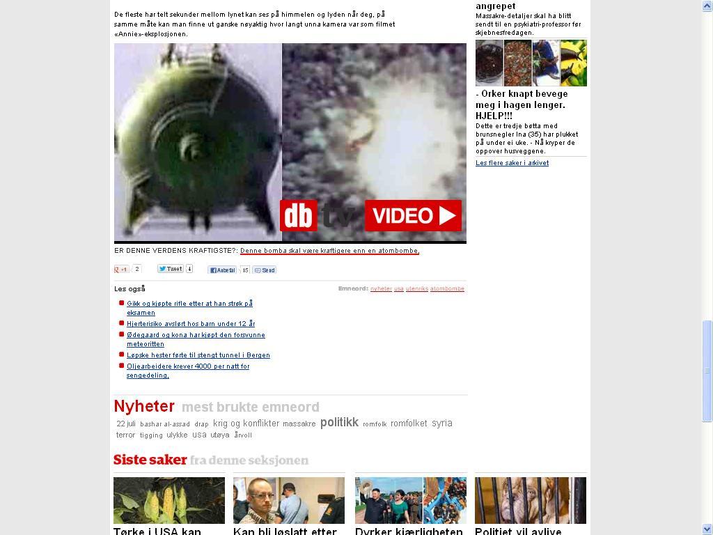konvensjonell bombe atombombe