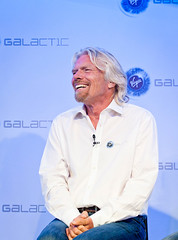 Sir Richard Branson. Photo by Mark Chivers