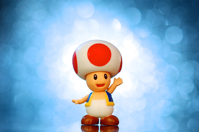 Super Blast Toad - Christians can relate to Super Mario