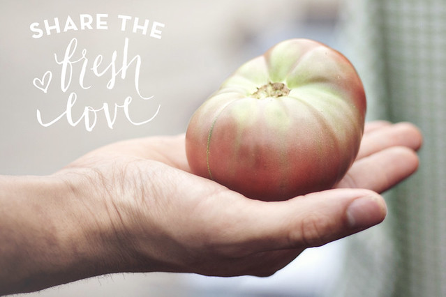 Morningside Farmers Market // Yours is the Earth // Share the Fresh Love