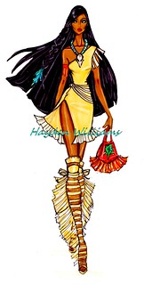 The Disney Divas collection by Hayden Williams: Pocahontas