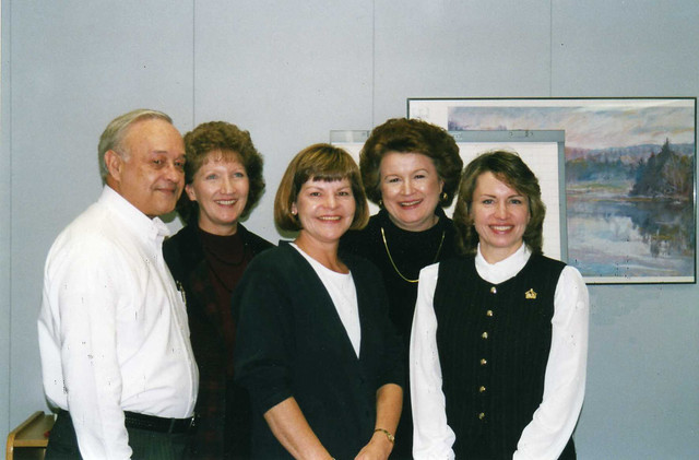 Ken Bowen, Linda, Pam, Sandy, Janet