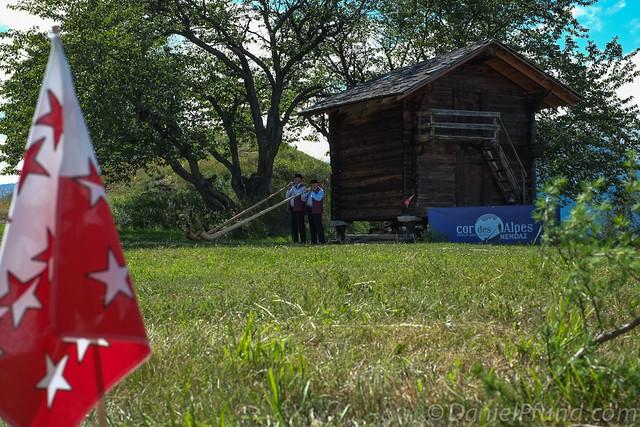 Nendaz Alphorn Festival 2012