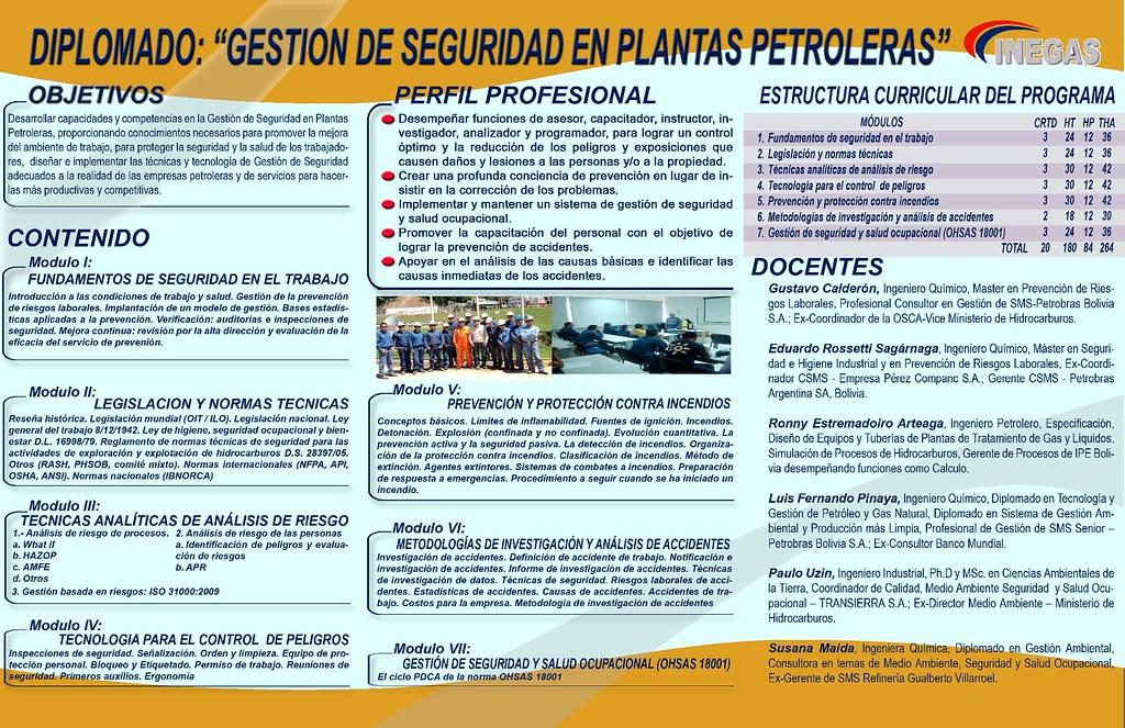 Diplomado En Gestion De Seguridad En Plantas Petroleras 00