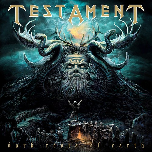 Testament 'Dark Roots Of Earth' CD (2012)
