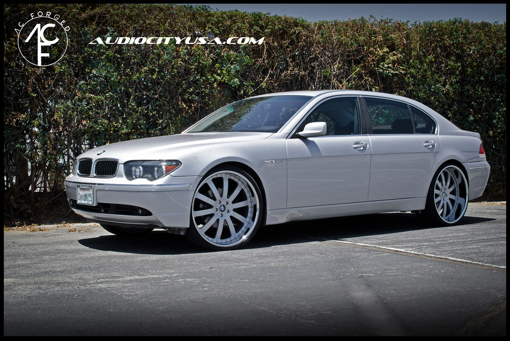 24quot AC Forged 310 On BMW 745 By AUDIO CITY WHEELS Flickr