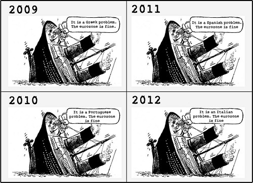 The ECB report 2009-1012 (now in cartoon form) by Teacher Dude's BBQ