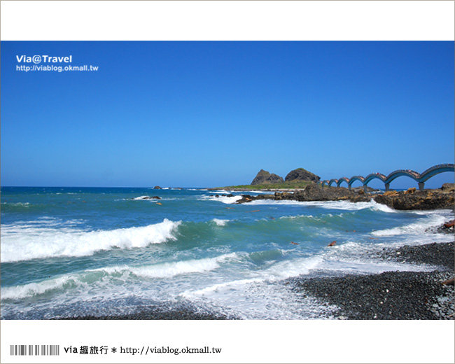 【台東必去景點】台東三仙台~我心目中台灣最美的一座橋啊!9