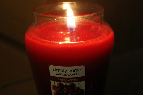 Simply Home Yankee Candle - Cherry Vanilla
