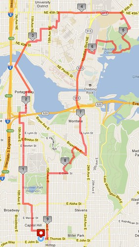 Today's awesome walk, 9.25 miles in 2:58 by christopher575
