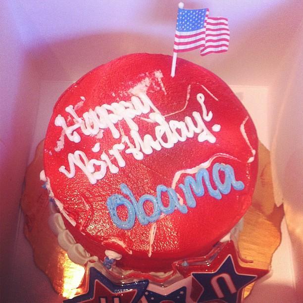 President Obama's birthday