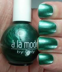 Orly a la mode Green