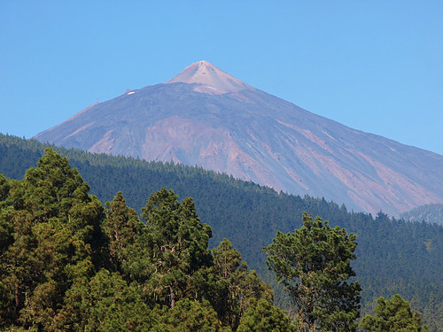 Mount Teide from La Orotava Valley, Tenerife