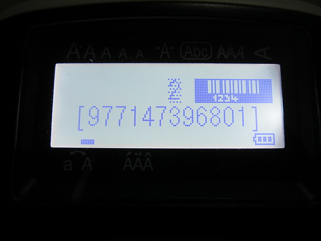 Epson LabelWorks LW-400 - Creating Barcode Label
