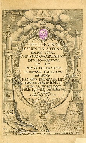 009- Portada-Amphitheatrvm sapientiae aeternae…-1609- Heinrich Khunrath