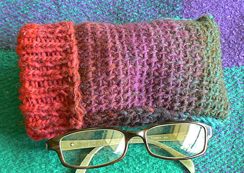 Free Crochet Pattern Eyeglass Case : Tuni/Knit Turtleneck Eyeglass Case (No 2) A Quest for ...