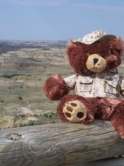 Ted at Painted Hills