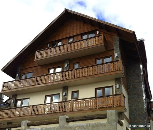 Chalet Valluga: hospedagem na montanha a poucos passos da estação de esqui de Farellones