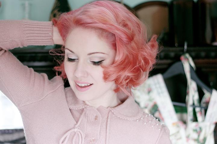 pink hair d