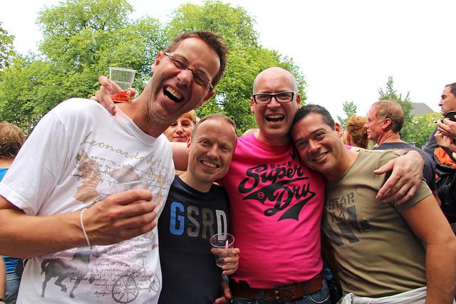 Gay Pride 2012 Amsterdam (Netherlands). Prinsengracht 04/08/2012 15h52