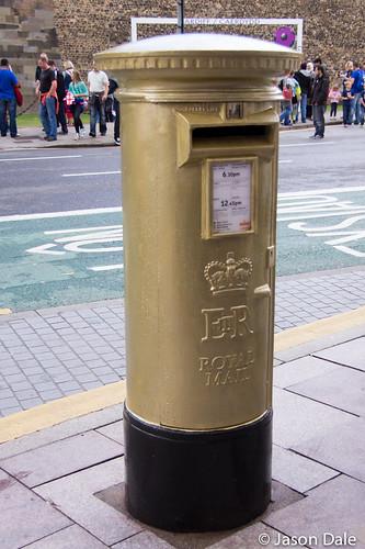 Geraint Thomas Olympic Postbox
