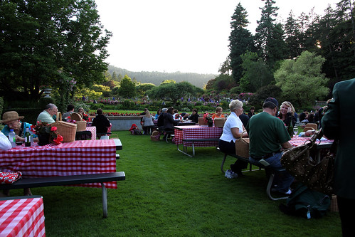 Butchart Gardens - Other Picnickers