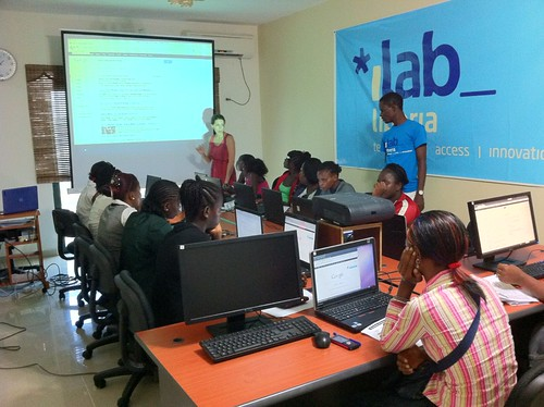 """Mastering the Internet"" training at iLab Liberia"