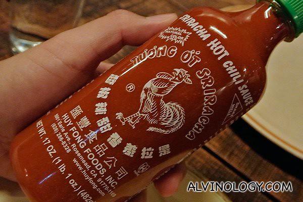 Vietnamese chili sauce