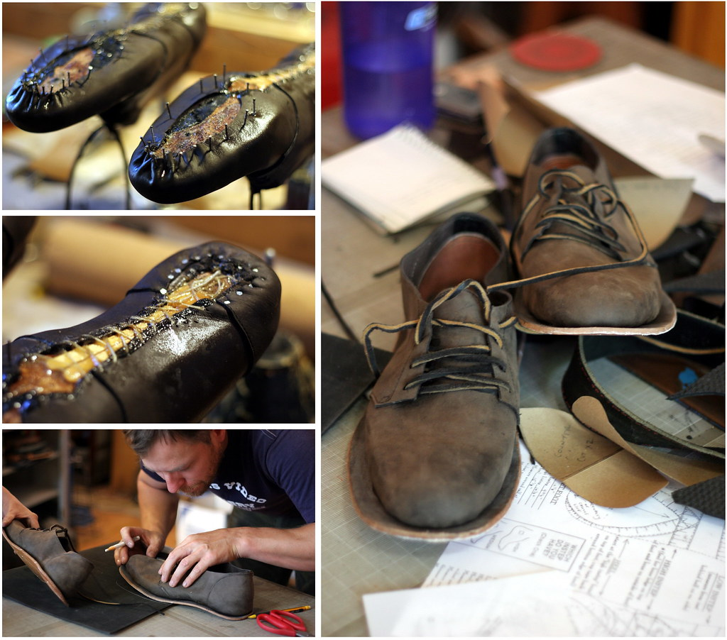 Arie's handmade shoes