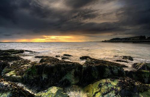 seascape storm beach wales landscape nikon moody cymru rough gwynedd tywyn sigma1020mmf456 d7000 hitechreversegrad ©howiemudge