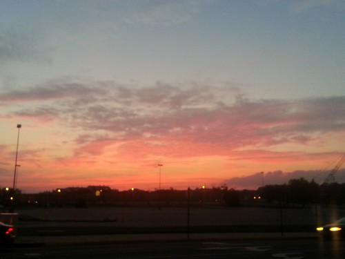 Sunset In Alexandria, Virginia